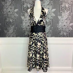 Maggy London Silk Halter Dress